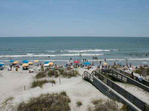 Isle Of Palms Beach Charleston South Carolina